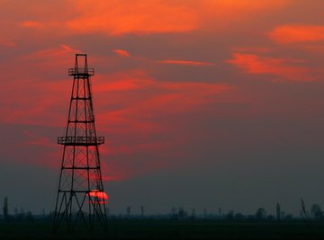 As older oil reservoirs become dry, new wells must be dug.