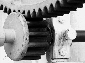 Spur gears are used to increase or decrease power and speed.