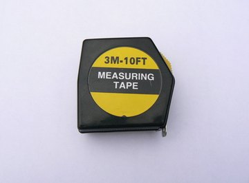 Tape measures are one thing you can use to calculate square footage.