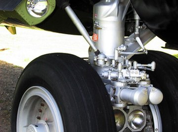 Airplane landing gear often contains 4340 alloy steel.