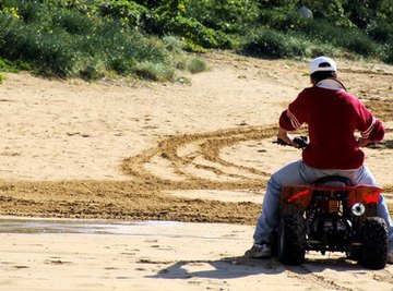Getting out of those sandy situations with homemade sand ladders