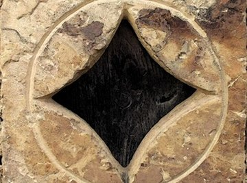 An inscribed square's four corners touch the circle drawn around it.