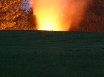 A volcanic eruption is an example of a natural disaster.