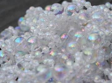 Glass bead blasting is used to texturize or clean the surfaces of objects.