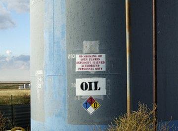 Oil tanks vary in size.