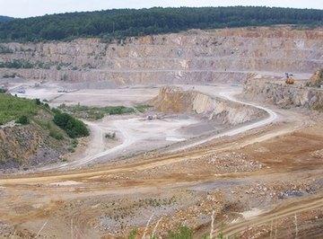 Limestone mining has environmental impacts.