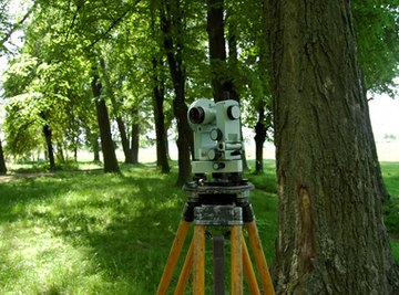 Theodolites are commonly used on construction sites and in archaeology.