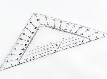 The hypotenuse of a triangle is a key element when learning how to calculate angles in a triangle.