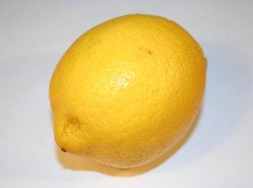 A lemon can help make electricity.