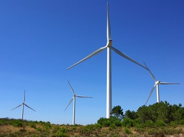 Wind generator systems can be made at home for the production of electricity.