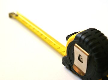 A measuring tape can assist in measuring square yards.
