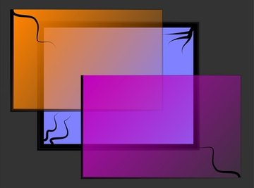 Rectangles have two dimensions.