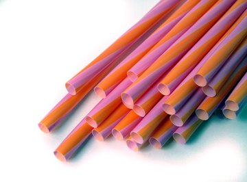 Straws can be used in a number of science experiments.