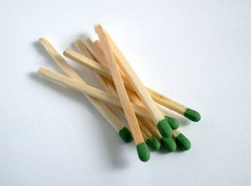 Create your own homemade matches with potassium chloride and red phosphorus.