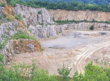 Limestone is found on every continent.