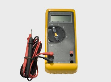 Test your multimeter if it doesn't seem to work correctly.