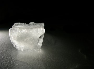 Watching ice melt can be the start of an educational science project.