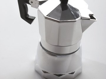 Traditional stove-top coffee pots contain an internal structure that makes distilling liquids easy.