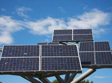 Solar panels produce DC voltage.