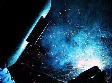 Arc welding requires the use of welding rods to join the welding joint together.