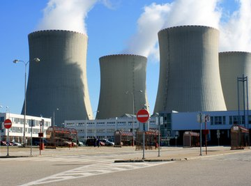 Nuclear power plants use nuclear fission to generate electricity.