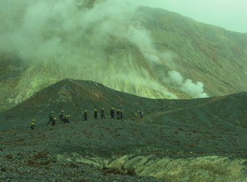 Volcanologists use a wide variety of tools to study volcanoes.
