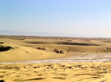 Humidity in Deserts