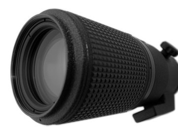 A zoom lens can be converted into a telescope with some modifications.