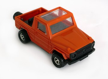 Toy cars can be modified to create magnetically-propelled cars.