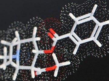 Molecular bonds show different infrared absorption frequencies.