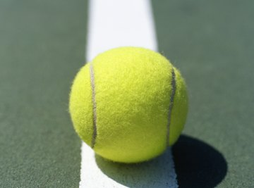 The temperature of a tennis ball determines the height to which it bounces back.