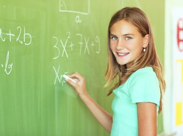 Simplify expressions following the order of operations.