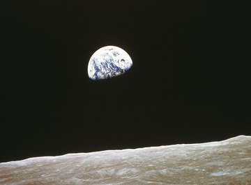The Earth and moon are not only neighbors but were born from the same material.