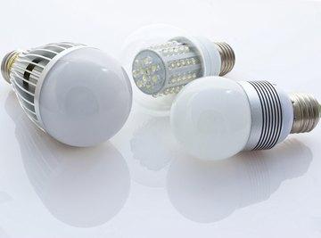 3 types of LED bulbs