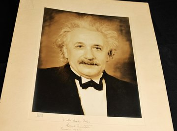 Einstein was prominent in the community of physicists who discovered photons.