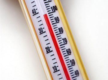 Most thermometers show Celsius on one side and Fahrenheit on the other.