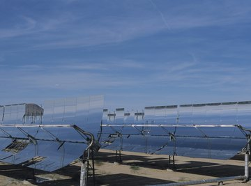 Solar cells actually produce more power in cold temperatures.