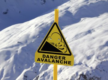 Avalanches are both constructive and destructive forces.
