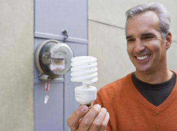 Switching to compact fluorescent lamps or light-emitting diode bulbs can cut energy costs by 80 percent.