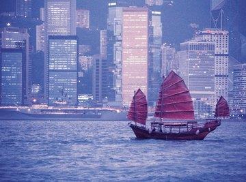 The winter monsoon brings high winds to Hong Kong.