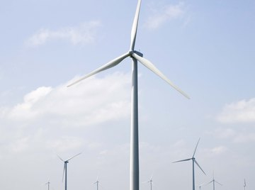 Turbines with a larger swept area can generally harvest more wind power.