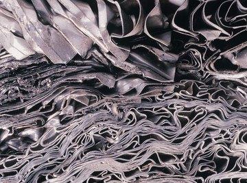 sheets of scrap metal