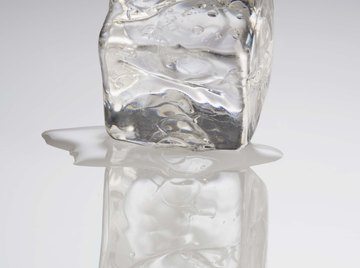Melting ice requires significant amounts of energy.