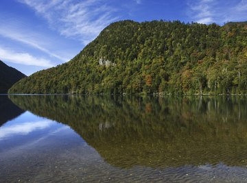 The Adirondacks are part of the largest area of forest in the eastern United States.