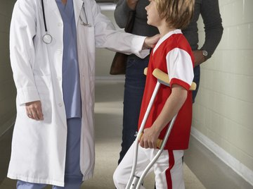 Broken bones can result from parathyroid disorders.