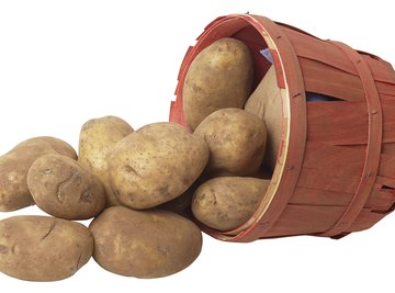 Using a simple household potato can teach youngsters how electricity works.
