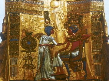 King Tut had one of the most famous rock-cut tombs.
