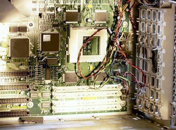 Computer motherboards use a zero insertion force socket for the CPU.