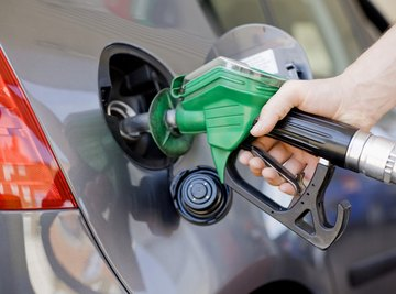 Gas stations are associated with two kinds of pollution: air and soil.