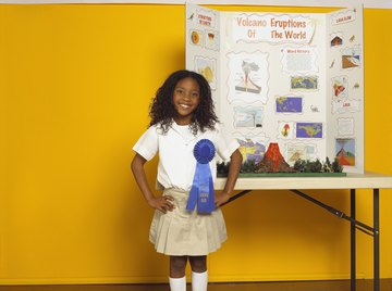 A successful science fair project includes eight parts.